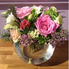 charming pink posy