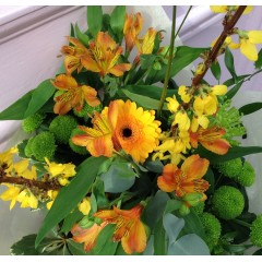 sunshine mixed bouquet