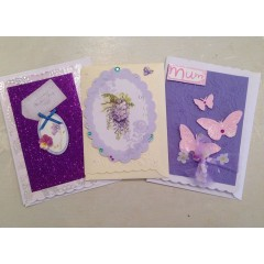 hand-made mothers day gift card - small
