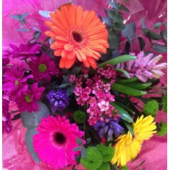 mothers day bouquet tropical carnival