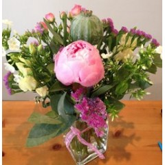 luxe design of the week - pretty summer vase