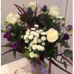 luxe design of the week - classic purple vase